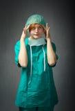 Problemi del chirurgo immagine stock