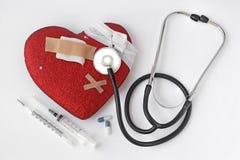 Problemi del cuore Immagini Stock
