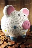Problemi della crisi economica e della necessità salvare Immagine Stock