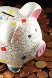 Problemi della crisi economica e della necessità salvare Fotografia Stock Libera da Diritti