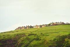 Problemi di alloggio sociali, Cumbria Immagini Stock