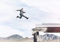 Problemi e difficoltà che sormontano concetto Immagine Stock