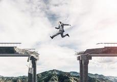 Problemi e difficoltà che sormontano concetto Fotografie Stock