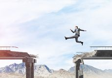 Problemi e difficoltà che sormontano concetto Immagini Stock
