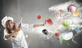 Problemi nella cucina Fotografie Stock Libere da Diritti
