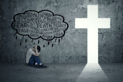 Problemi spirituali Immagine Stock Libera da Diritti