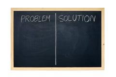 Problemlösung Lizenzfreies Stockfoto