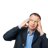 Problems in business Royalty Free Stock Photo