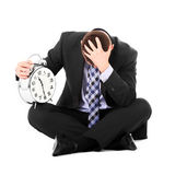 Problems with deadline Royalty Free Stock Photo