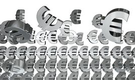 Problems with the euro Stock Images