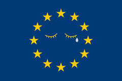 Problems in European Union Stock Image