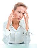 Problems, failures, headache Royalty Free Stock Image
