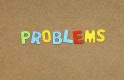 Problems Stock Image