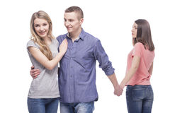 Problems in relationships Stock Photography