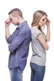 Problems in relationships Stock Photos