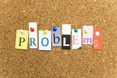 Problems Stock Photography
