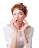 Problems of skin care Royalty Free Stock Photography