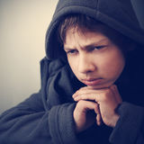 Problems of teenagers Royalty Free Stock Images