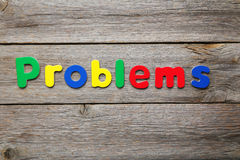 Problems Royalty Free Stock Photo