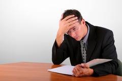 problemy finansowe Obraz Stock