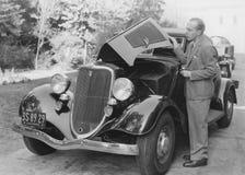 Problème de voiture Images libres de droits