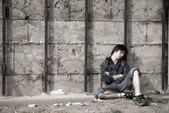 Problèmes d'années de l'adolescence Image libre de droits