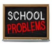 Problèmes d'école Image libre de droits