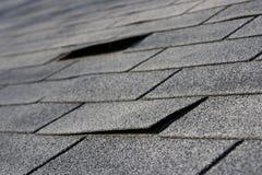 Problèmes de toiture Photographie stock libre de droits