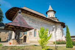 Probota-Kloster in Probota, der Bezirk Suceava, Rumänien Stockfotos