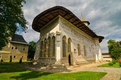 Probota kloster, Rumänien Royaltyfria Foton