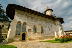 Probota kloster, Rumänien Arkivfoton