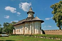 Probota monastery. The Probota monastery in summer stock image