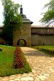 Probota Monastery, medieval orthodox monastery in Moldavia, Romania Royalty Free Stock Photography
