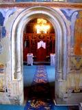 Probota Monastery, medieval orthodox monastery in Moldavia, Romania Royalty Free Stock Image