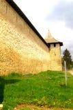 Probota Monastery, medieval orthodox monastery in Moldavia, Romania Stock Photos