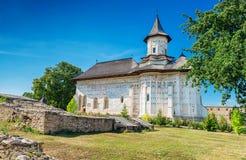 Probota Monastery in Probota, Romania Stock Image