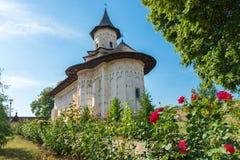 Probota Monastery in Probota, Suceava County, Romania Royalty Free Stock Images