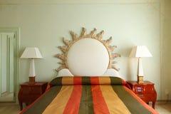 Procès confortable, chambre à coucher Photos stock