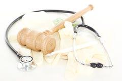 Procès contre la corruption dans le système de santé Images libres de droits