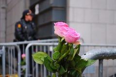 Procès d'Anders Behring Breivik à Oslo Photos stock