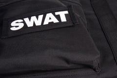 Procès d'armure de SWAT Image libre de droits