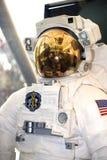 Procès d'espace américain d'astronaute images stock