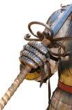 Procès de chevalier d'armure médiéval Image libre de droits