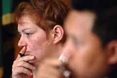 Procès de drogue de l'Indonésie Grande-Bretagne photo stock