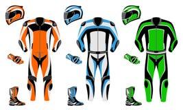 Procès de moto illustration libre de droits