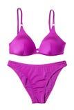 Procès de natation rose de femme Photos libres de droits