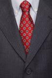 Procès et relation étroite, vêtement mâle d'affaires Image libre de droits
