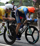 Procès olympiques 2012 de temps Images stock