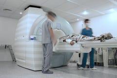 Procédé de visite médicale dans l'hôpital photos libres de droits