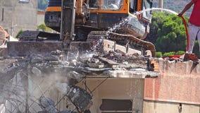 Procédure de construction de démolition clips vidéos